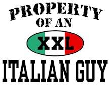 Property of an Italian Guy t-shirt