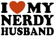 I Love My Nerdy Husband t-shirt