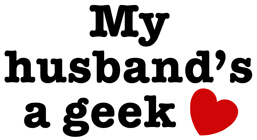 My Husband's a Geek t-shirt