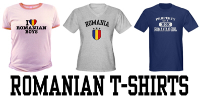 Romanian t-shirts