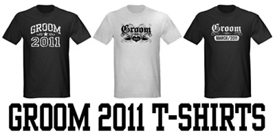 Groom 2011 t-shirts