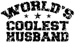 World's Coolest Husband t-shirt