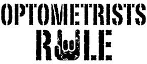 Optometrists Rule t-shirts