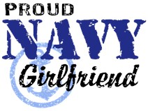 Proud Navy Girlfriend t-shirts