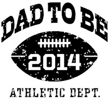 Dad To Be Football 2014 t-shirt