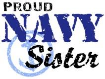 Proud Navy Sister t-shirt