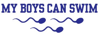 My Boys Can Swim t-shirt
