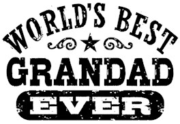 World's Best Grandad Ever t-shirts