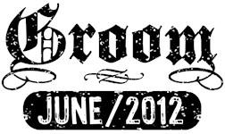 Groom June 2012 t-shirts