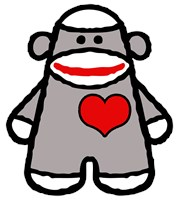 Cute Sock Monkey t-shirt
