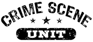 Crime Scene Unit t-shirts