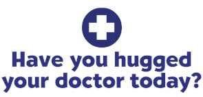 Hugged Doctor t-shirts