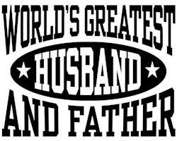 World's Greatest Husband And Father t-shirts