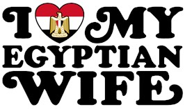 I Love My Egyptian Wife t-shirts