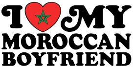 I Love My Moroccan Boyfriend t-shirts
