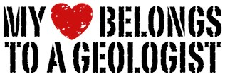 My Heart Belongs To A Geologist t-shirt