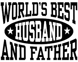 World's Best Husband and Father t-shir