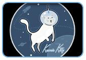 'Kosmic Kitty' by ZapGraphix