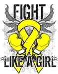 Sarcoma Ultra Fight Like a Girl Shirts