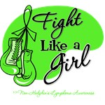 Fight Like a Girl Non-Hodgkin's Lymphoma Shirts