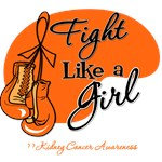 Fight Like a Girl Kidney Cancer Apparel