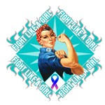 Thyroid Cancer Rosie Riveter Fight Like a Girl