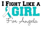 Custom I Fight Like a Girl Cervical Cancer