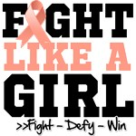 Fight Like Girl Uterine Cancer