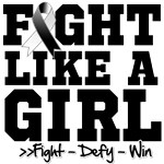 Carcinoid Cancer Sporty Fight Like a Girl Shirts