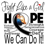 Fight We Can Do It Carcinoid Cancer Shirts