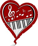 love Piano and music