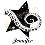 musical Notes star