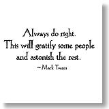 Always Do Right