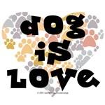Dog is love, neutral