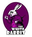 White Rabbit Logo Plum