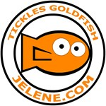 Tickles Goldfish logo