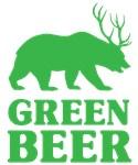 Bear/Deer Green Beer