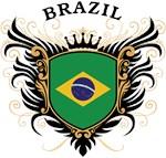 Brazilian Flag T-shirts & Gifts