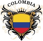 Colombian Flag T-shirts & Gifts