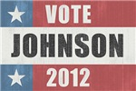 Vote Johnson 2012 Vintage