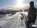 Team on the Denali Higway
