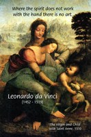 Leonardo da Vinci Art Union of spirit and Hand