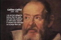 Galileo Galilei: God Religion Reason