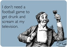 Football Game To Get Drunk