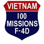 F-4D - 100 Missions
