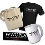 WWOPD? T-shirts, Stickers & Gear