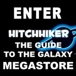 THE HITCHHIKERS GUIDE STORE
