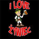 I Love Zywiec Shirts