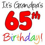 Grandpa's 65th Birthday