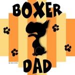 Boxer Dad Yellow/Orange Stripe